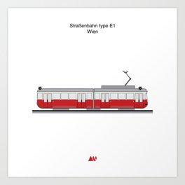 Wiener Linien Art Print