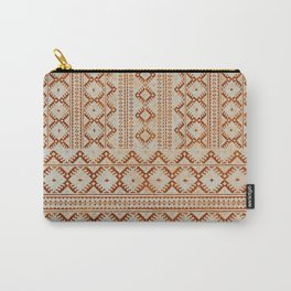 kilim geo in sand Carry-All Pouch