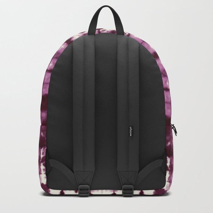 Black Cherry Satin Shbori Backpack