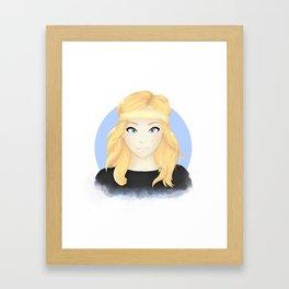 Perrie Edwards Framed Art Print