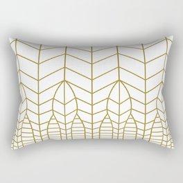 ART DECO IN WHITE Rectangular Pillow