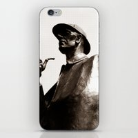 sherlock holmes iPhone & iPod Skins featuring Sherlock Holmes by sopheyrac