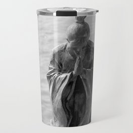 Sculpture_The prayer Travel Mug