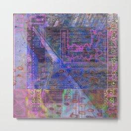 Wayward Sunday (Quicksand 1999 Digital Rem...) [A Brand New Experiment Series] Metal Print