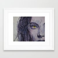 siren Framed Art Prints featuring Siren by Michael Creese