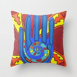 Harmony Hand Throw Pillow