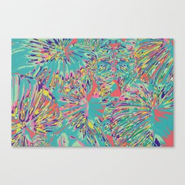 The jungle looked back with a vastness Canvas Print