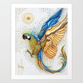 Liberación Art Print