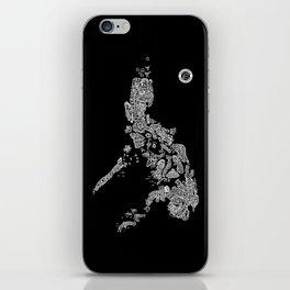 Paranormal Philippines (black) iPhone Skin