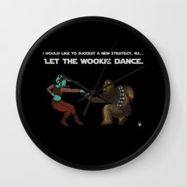 Let the Wookie Dance Wall Clock
