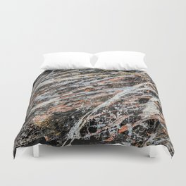 Copper ore Duvet Cover