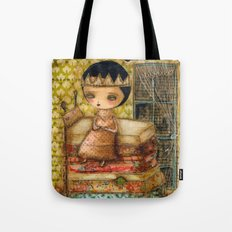 Sleepless Nights With The Princess And The Pea Tote Bag