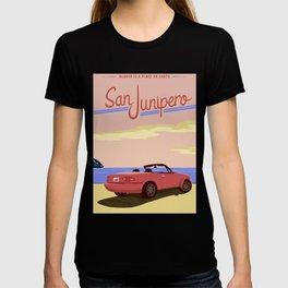 San Junipero Travel T-shirt