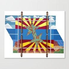 Altered State: AZ Canvas Print