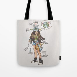 ECO-FRIENDLY TIPS Tote Bag
