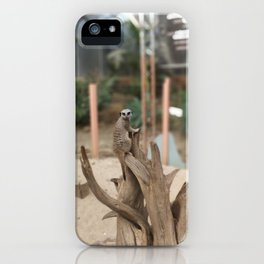 Sentry Meercat iPhone Case