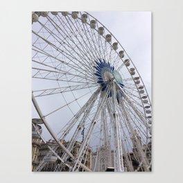 La Grande Roue de Marseille Canvas Print