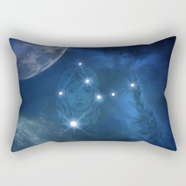 Zodiac sings virgo Rectangular Pillow