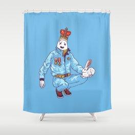 Egghead Shower Curtain