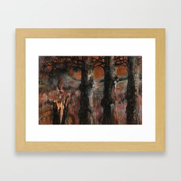 For Searchers of Lost Things Framed Art Print
