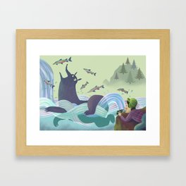 Alaskan Adventure Framed Art Print