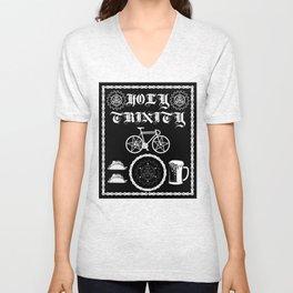 Bikes, Tacos, Beer! Unisex V-Neck