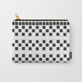 mini tiles in black Carry-All Pouch