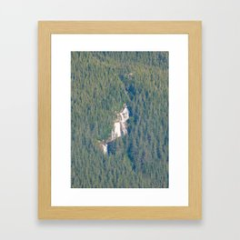 Mountain Falls - 1 Framed Art Print