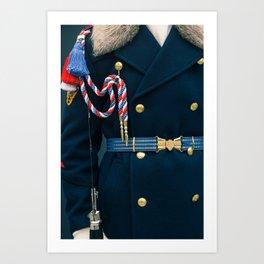 The Castle Guard Art Print