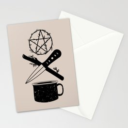 DELUXEWITCH Tarot Suits Stationery Cards