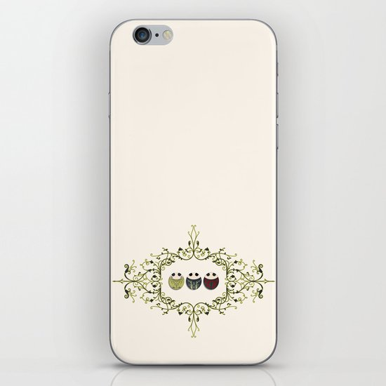 One for all, all for one! iPhone & iPod Skin