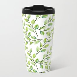 Branches and Leaves Metal Travel Mug