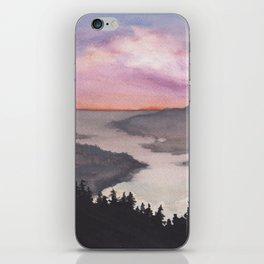 Weekend watercolor iPhone Skin