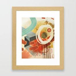 Slow Motion Framed Art Print