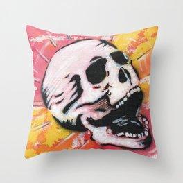 Gunga Skull 05 Throw Pillow