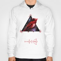 cardinal Hoodies featuring Cardinal by MyArti