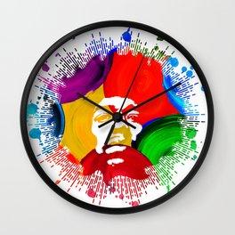 JIMI0402_water color Wall Clock