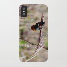 mariquitas - ladybug Slim Case iPhone X