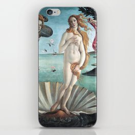 The Birth of Venus, Sandro Botticelli iPhone Skin