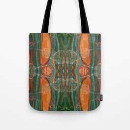 Lively Synapses (Amplified Current) (Reflection) Tote Bag