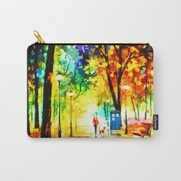 Tardis Phone Both Painting Art Carry-All Pouch