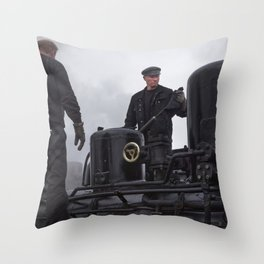 Steam locomotive 99 5902 from 1897 Throw Pillow