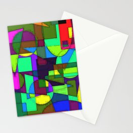 Abstract 4b Stationery Cards