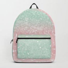 Pastel Summer Glitter #1 (Faux Glitter - Photography) #shiny #decor #art #society6 Backpack