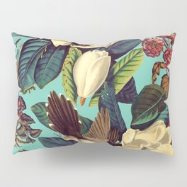 FLORAL AND BIRDS XXI Pillow Sham