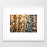 prague Framed Art Prints featuring Prague by dora-isa