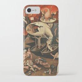 Hieronymus Bosch moral fantasy iPhone Case