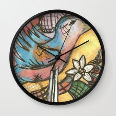 1014--Sometime after 23 of April Wall Clock