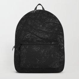 Luxury Black Marble Backpack