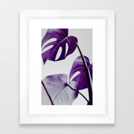 botanical vibes III Framed Art Print